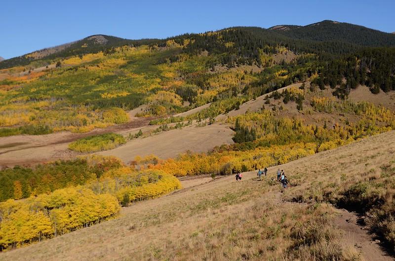Fall foliage hike at Colorado Trail, Kenosha Pass  (42)
