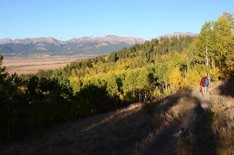 Fall foliage hike at Colorado Trail, Kenosha Pass  (13)