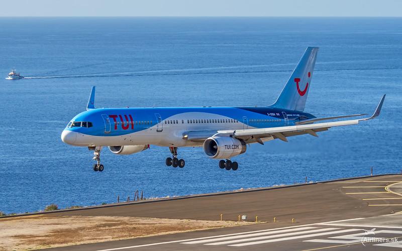 G-OOBA TUI Airways Boeing 757-28A(WL)