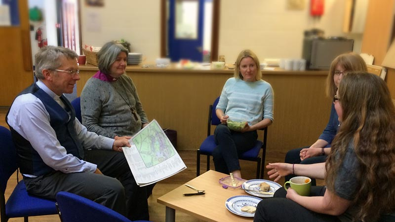 People enjoy meeting in the Chaplaincy