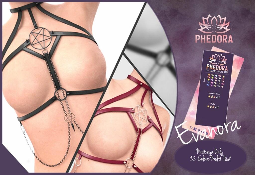 Phedora. for Kinky Event – Evanora Harness ♥