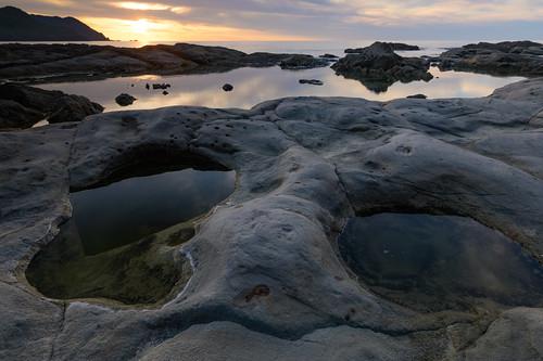 豊岡市 兵庫県 japan 但馬 海岸 seashore 竹野海岸 夕景 sunset