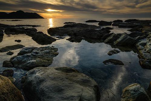 japan 兵庫県 豊岡市 sunset seashore 夕景 海岸 但馬 竹野海岸