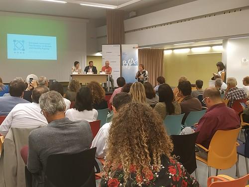 9 Acte de recepció del guardó de la Comissió Europea a Badalona, com a lloc de referència en innovació en envelliment actiu i saludable