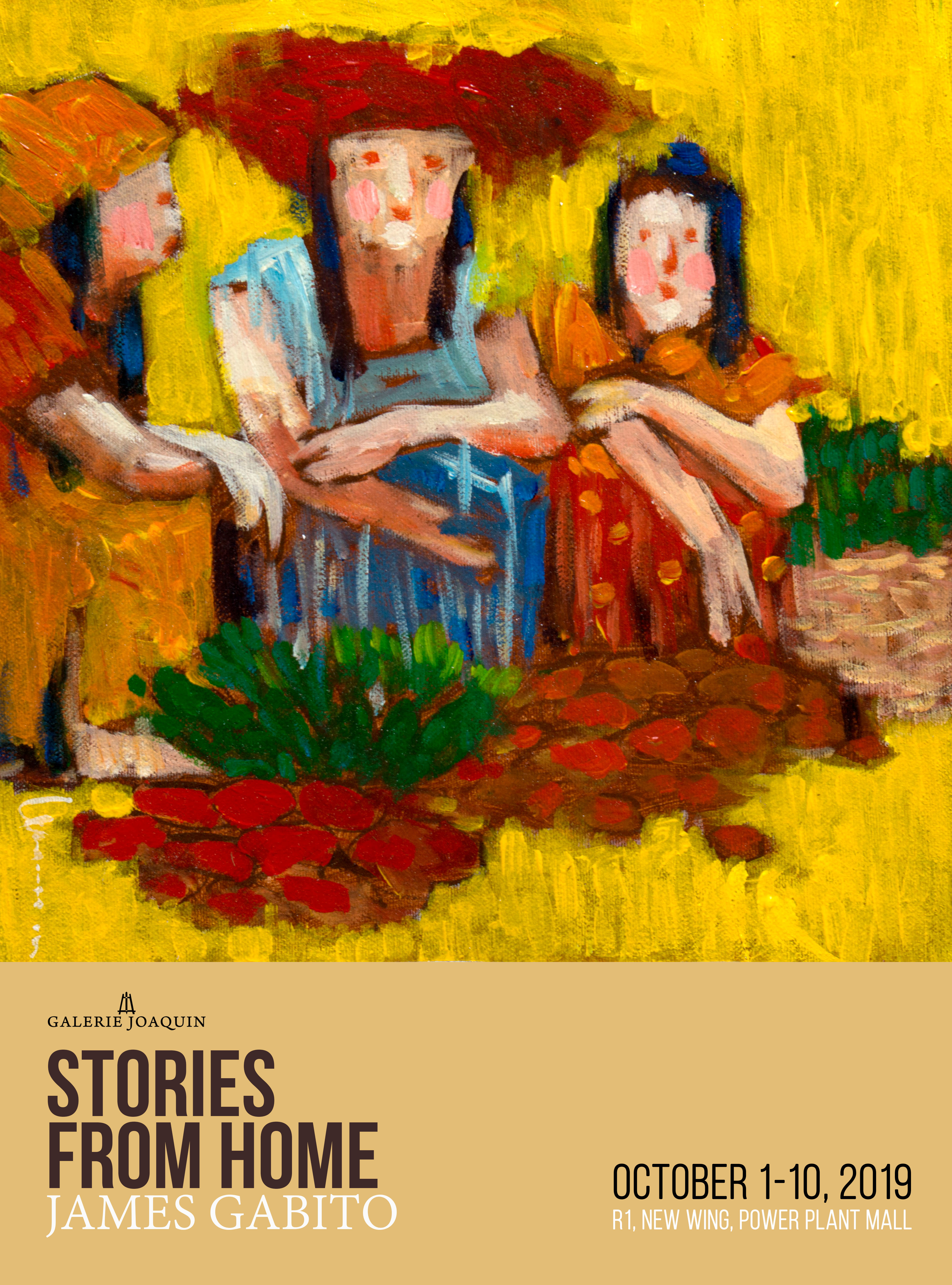 """""""STORIES FROM HOME"""" BY JAMES GABITO AT POWER PLANT MALL, NEW WING"""