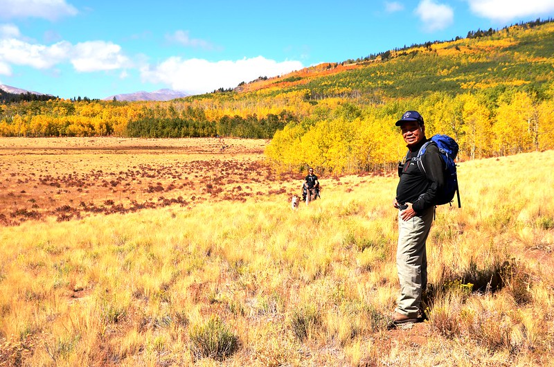 Fall foliage hike at Colorado Trail, Kenosha Pass (173)