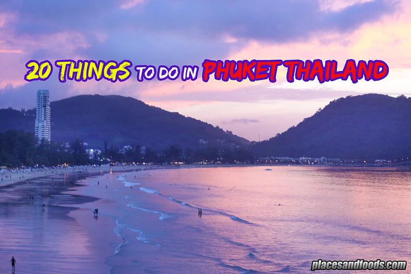 20 things phuket