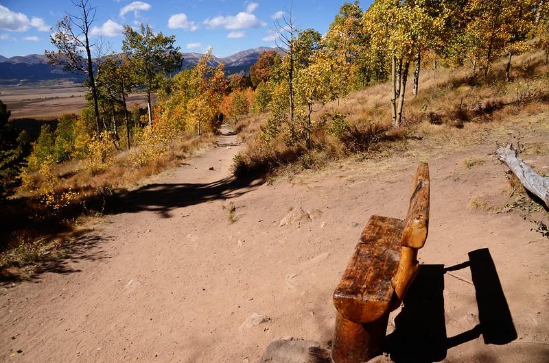 Fall foliage hike at Colorado Trail, Kenosha Pass  (238)
