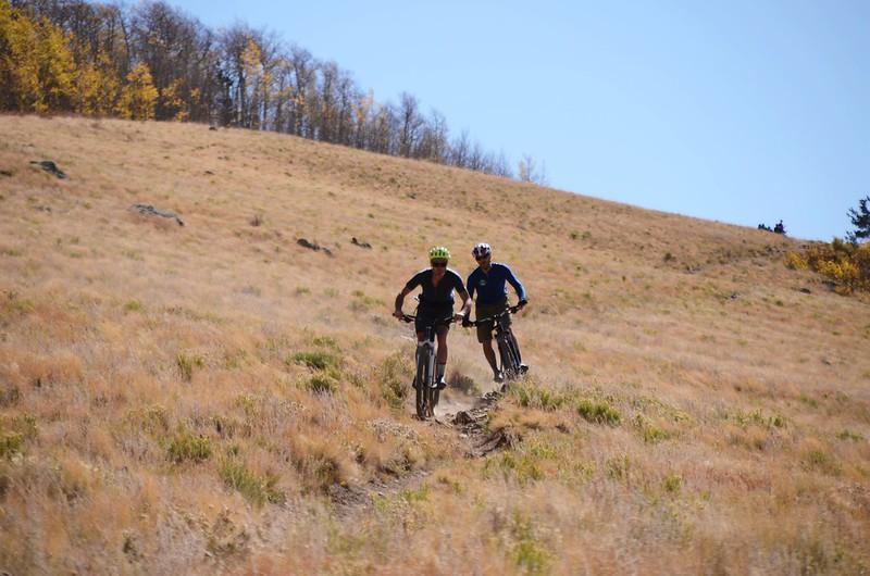 Fall foliage hike at Colorado Trail, Kenosha Pass  (179)
