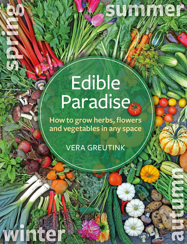 Book cover - Edible Paradise