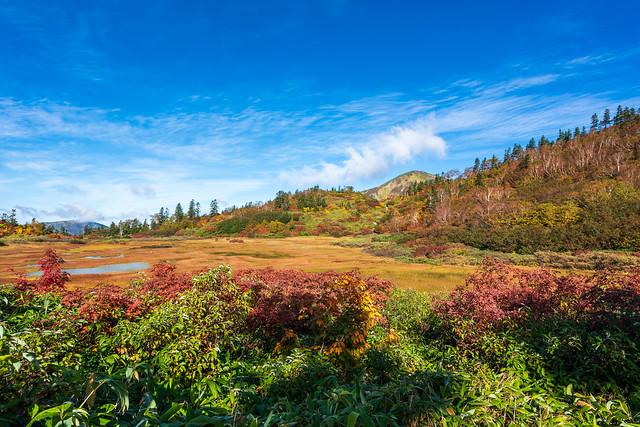 高谷池と火打山