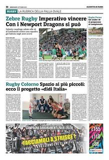 Gazzetta di Parma 02.10.19 - pag 30