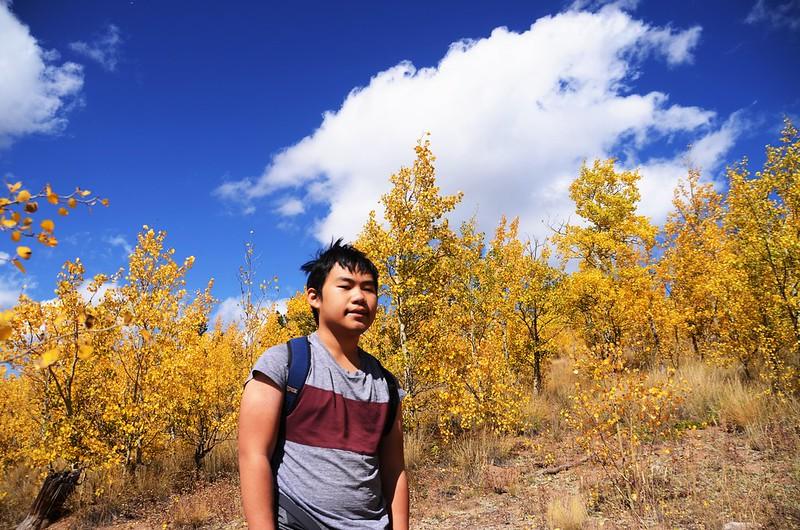 Fall foliage hike at Colorado Trail, Kenosha Pass (206)
