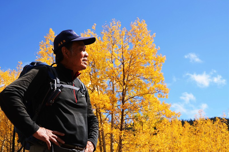 Fall foliage hike at Colorado Trail, Kenosha Pass (168)