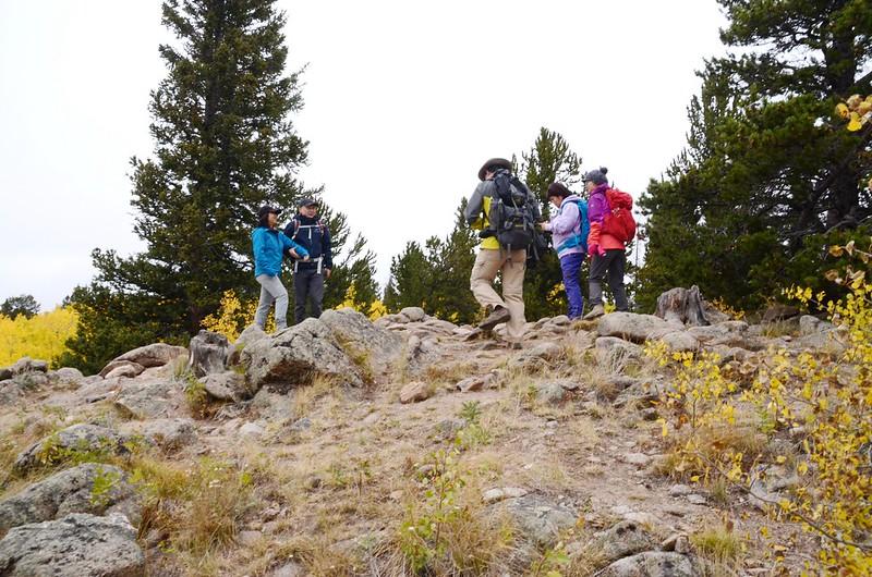 Fall foliage hike at Colorado Trail, Kenosha Pass (53)