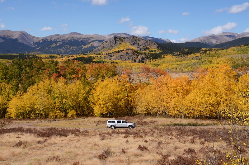 Fall foliage hike at Colorado Trail, Kenosha Pass  (176)