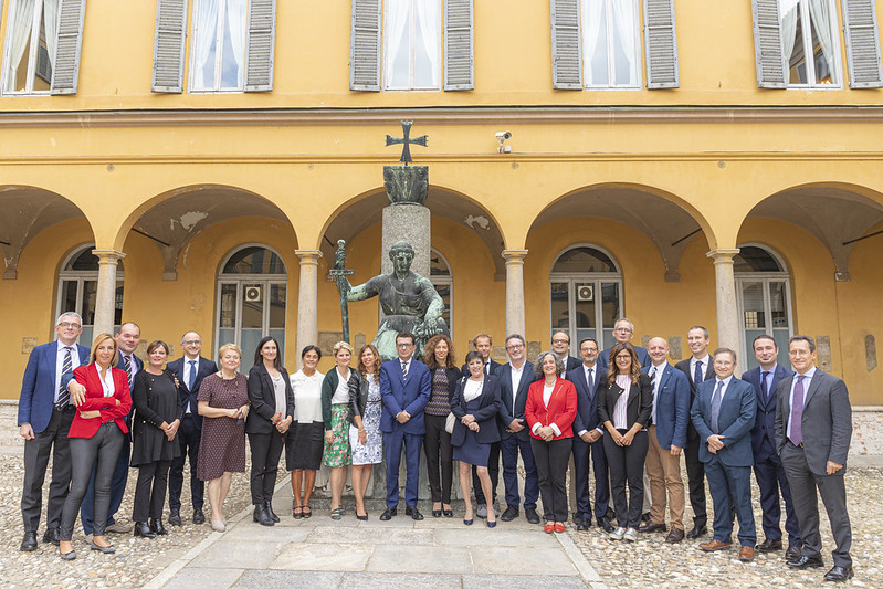 La nuova squadra di governo dell'Università di Pavia, nomi e obiettivi strategici