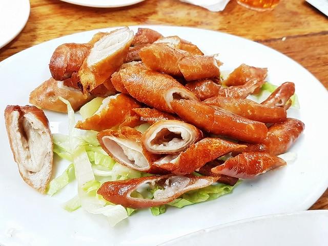 Fried Pig's Intestines