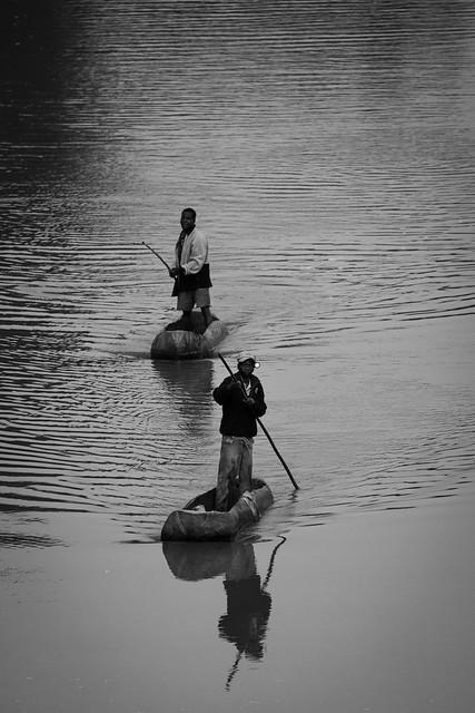 Fishermen on Luangwa River