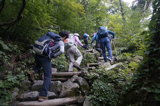 Attack to The Mt. HAKUSAN