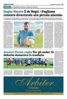 Gazzetta di Parma 02.10.19 - pag 31
