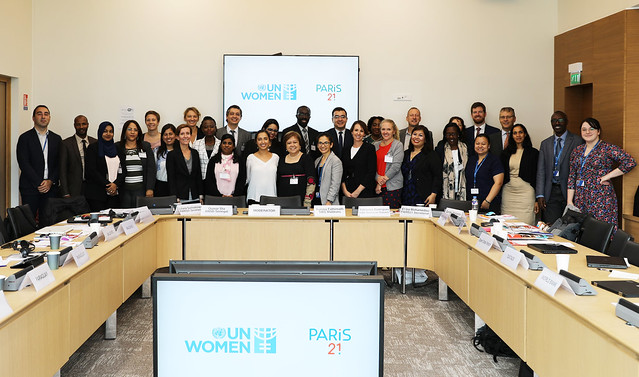 PARIS21 UN Women Gender Expert Meeting - Oct 2019