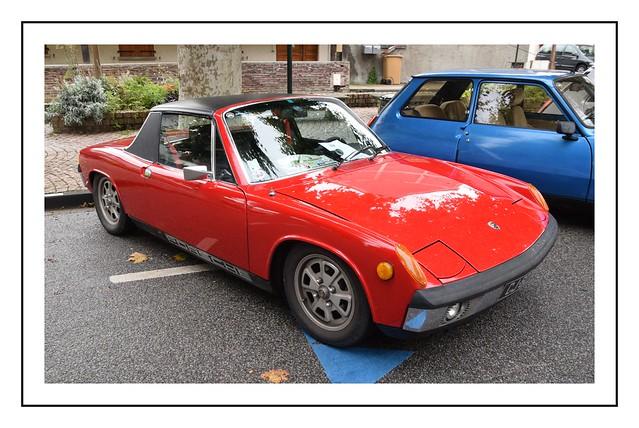 porsche 914 rouge
