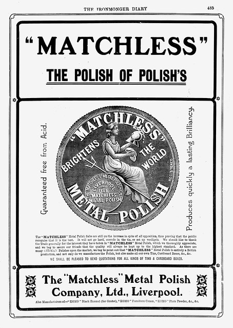 Matchless Metal Polish. 1904