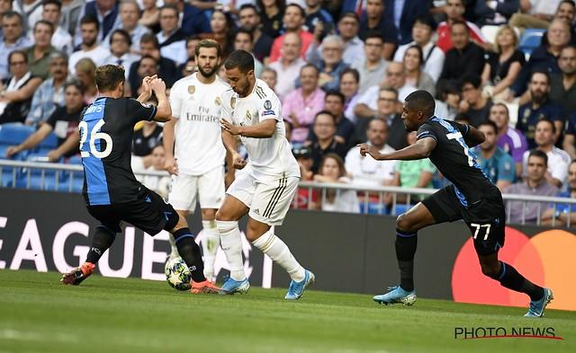 Real Madrid - Club Brugge 01-10-2019