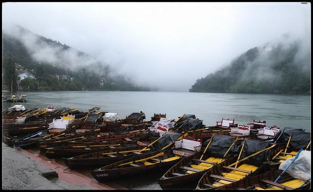 Misty Naini Lake!