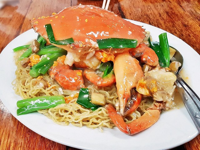 Ginger & Spring Onion Crab Noodles