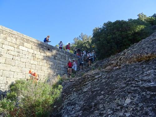 Départ de la randonnée depuis le Ponti di Marionu