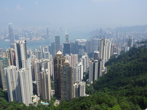 View from the Peak - Hongkong