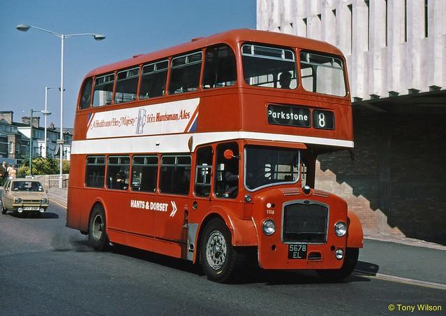 5678EL National Bus Company NBC Hants&Dorset H&D 1116