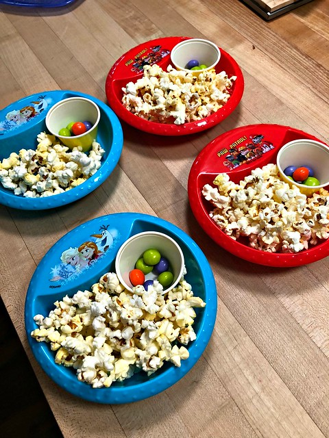 popcorn movie snacks