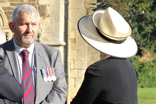 Cllr Adam Lowe  Hon Mr Justice Jeremy Baker presided at Oakham Court in Oakham Castle Photographs