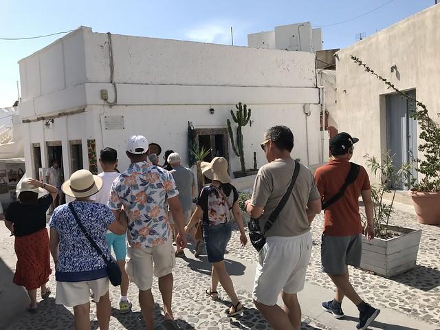 greece 1242 walking tour