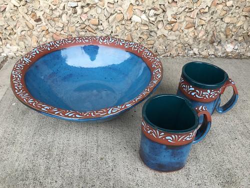 Oasisware Bowl & Mugs