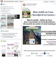 Annonce SCD-Facebook de la balade le long du Cavu avec APB le 01/10/2019