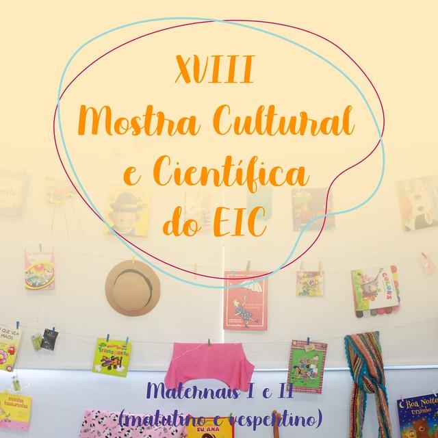 XVIII Mostra Cultural 2019 - Maternais I e II