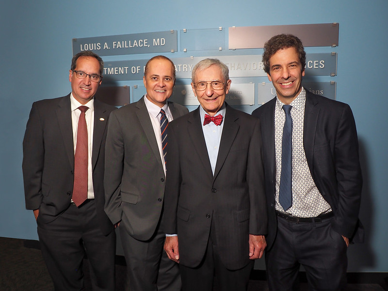 Flickr album for the Louis A. Faillace, MD, Naming Event
