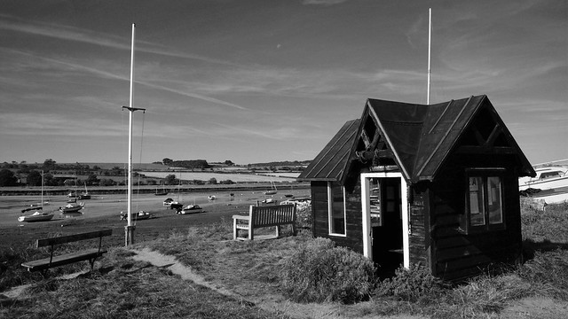 The ferryman's hut in Alnmouth