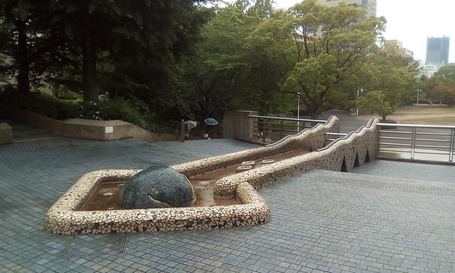 Stone Stage, Yamashita park, Yokohama
