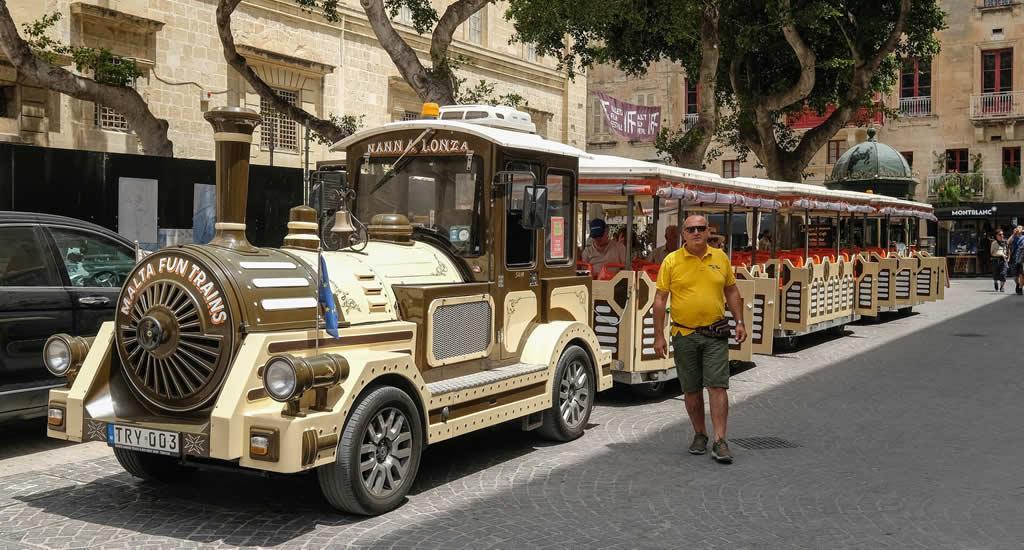 Valletta met kinderen (foto met dank aan Malta Fun Trains) | Malta & Gozo