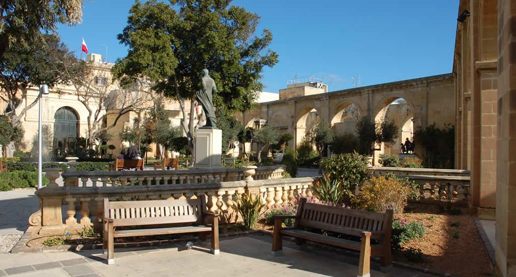 Upper Barrakka Gardens Valletta | Malta & Gozo