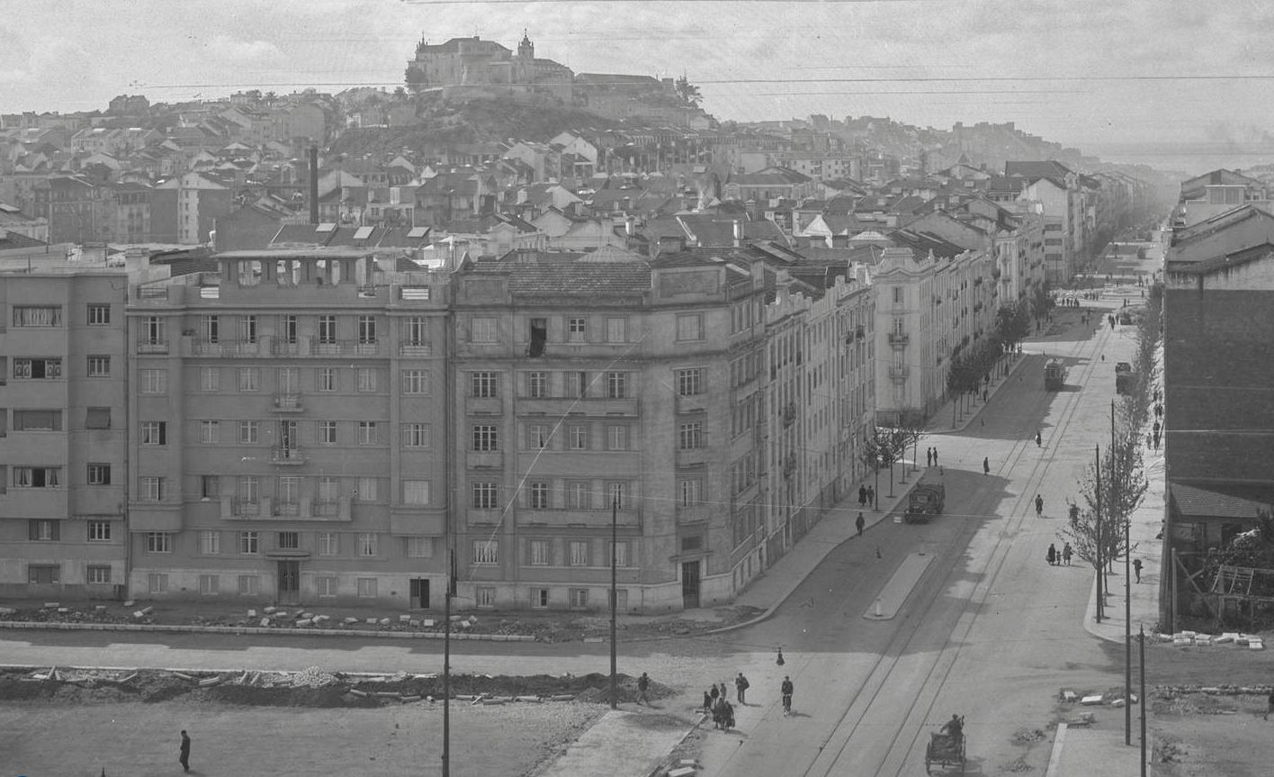 Avenida Almirante Reis, Lisboa (Garcia Nunes, c. 1940)