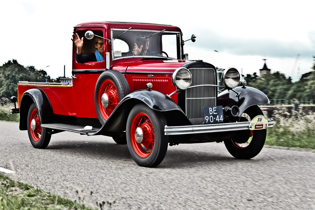 Ford Model B Pick-Up Truck 1932 (7058)