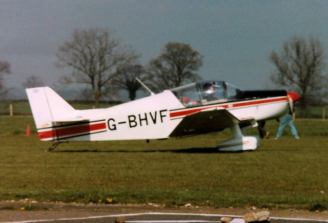 G-BHVF SAN Jodel D150 Mascaret cn 11 Finmere 07Apr90