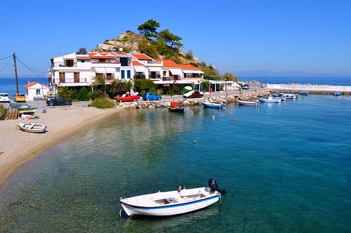 Kokkari Village , Samos Island