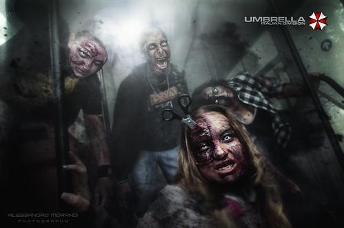 Lucca Comics & Games 2018 - UMBRELLA ITALIAN DIVISION - Bus of the dead to Raccoon City